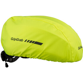 GripGrab Waterproof Helmet Cover, fluo yellow
